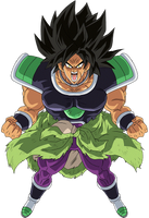 Broly movie 2018 render 2 by maxiuchiha22