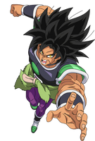Broly movie 2018 render 4 by maxiuchiha22
