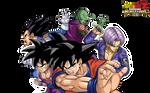 Z-Fighters - Android Saga render - DB Burst Limit