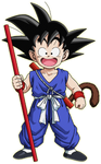 Kid Goku (First Suit) by Dairon11 on DeviantArt |Goku Blue Suit