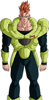 Android 16 render 19 - DB Xkeeperz