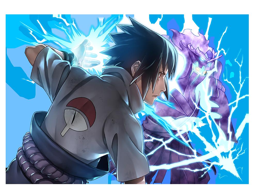 Sasuke Uchiha Render [Ultimate Ninja Blazing] By