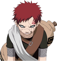 Young Gaara render 4 [Clash of ninja 3] by maxiuchiha22