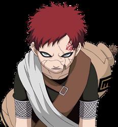 Young Gaara render 4 [Clash of ninja 3]