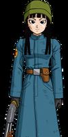 Mai (Goku Black) render 2 [Xkeeperz]