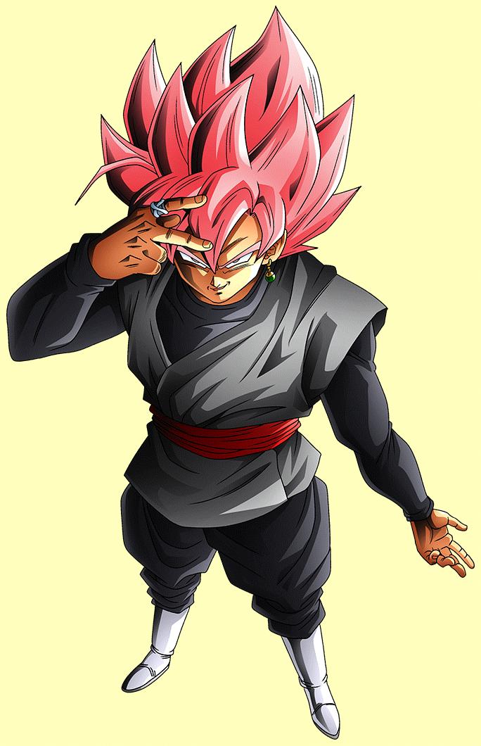 Goku Black SS rose render [Xkeeperz] by Maxiuchiha22 on DeviantArt