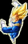 Vegeta (Android Saga) render [Xkeeperz]