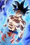 Goku Ultra instinct card [Bucchigiri Match]