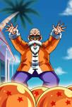 Master Roshi card [Bucchigiri Match]