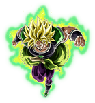 Broly SSJ (Broly Movie 2018) render 2 [Dokkan B.]