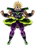 Broly SSJ (Broly Movie 2018) render 5 [Dokkan B.]