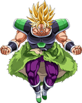 Broly SSJ (Broly Movie 2018) render 6 [Dokkan B.]