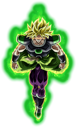 Broly SSJ (Broly Movie 2018) render 8 [Dokkan B.] by maxiuchiha22