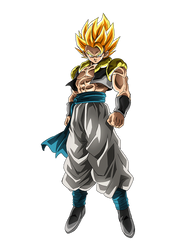 Gogeta SSJ (Broly Movie 2018) render 4 [Dokkan B.] by maxiuchiha22