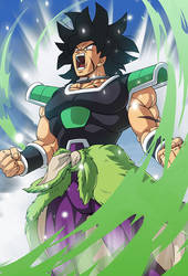 Broly (Broly Movie 2018) card 3 [Bucchigiri M.] by maxiuchiha22