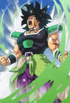 Broly (Broly Movie 2018) card 3 [Bucchigiri M.]