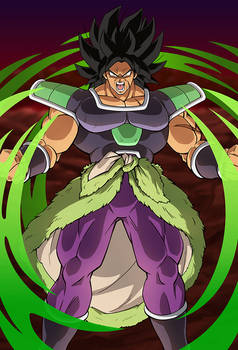 Broly (Broly Movie 2018)card 2 [Bucchigiri M.] by maxiuchiha22