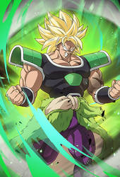 Broly SSJ (Broly Movie 2018)card 2 [Bucchigiri M.] by maxiuchiha22