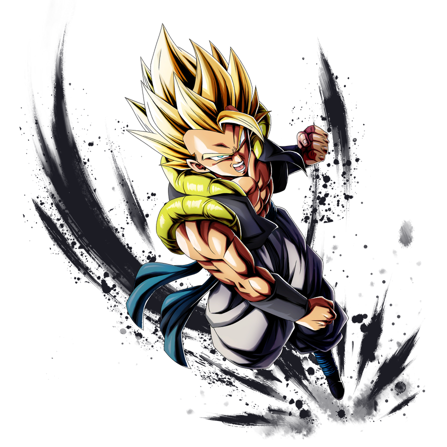 Dragon Ball Broly Full Movie: Gogeta SSJ (Broly Movie) Render [DB Legends] By
