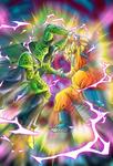 Perfect Cell vs Goku SSJ card [Bucchigiri Match]