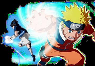 Naruto Uzumaki Chronicles 2 BG render by maxiuchiha22