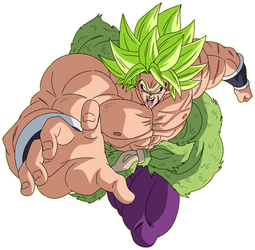 Broly Full Power render [Xkeeperz]