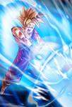 Teen Gohan SSJ card 2 [Bucchigiri Match]