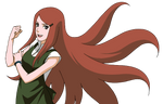 Kushina Uzumaki render 3 [Naruto Mobile]