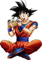 Goku render [DB VR] by maxiuchiha22