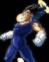 Vegeta Fusion render 2 [Bucchigiri Match] by maxiuchiha22
