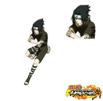 Sasuke render/cutin [Ultimate Ninja Heroes]