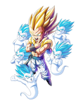 Gotenks SSJ render 3 [Bucchigiri Match]