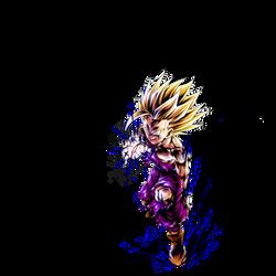 Teen Gohan SSJ2 render [DB Legends]