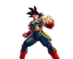 Bardock render [Bucchigiri Match] by maxiuchiha22