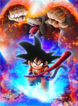 Kid Goku card [Xkeeperz]