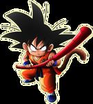 Kid Goku render [Xkeeperz] by maxiuchiha22