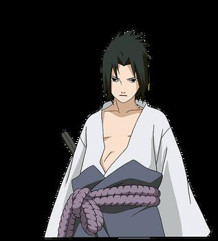 Sasuke Uchiha render 6 [Naruto Mobile] by maxiuchiha22