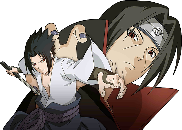 Sasuke Vs Itachi Render [Naruto Mobile] By Maxiuchiha22 On