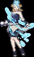 Azure Fang render [Naruto OL]