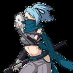 Azure Fang (Anbu) render [Naruto OL]