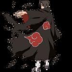 Itachi render 2 [Ultimate Ninja Heroes 3]