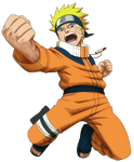 Young Naruto render [Ultimate Ninja Heroes 2]