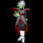 Fused Zamasu render 2 [SDBH World Mission] by maxiuchiha22