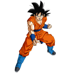 Goku (Gi) render [SDBH World Mission] by Maxiuchiha22
