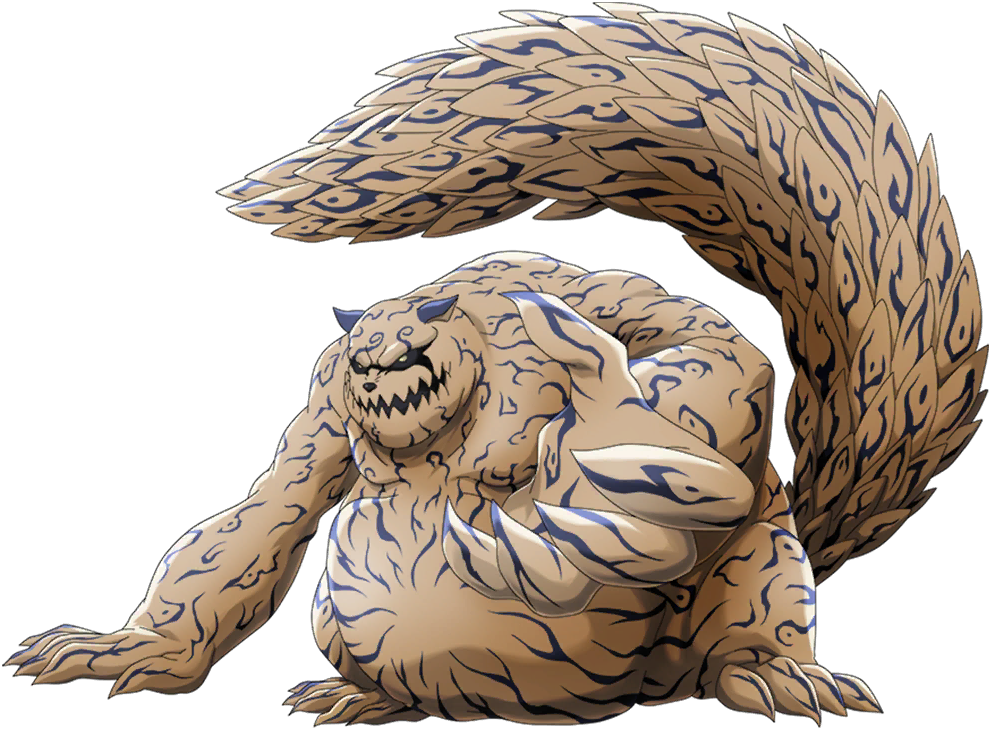 Shukaku render render [NxB Ninja Voltage] by Maxiuchiha22 on DeviantArt