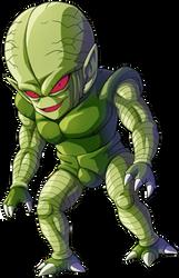 Saibamen render 2 [Bucchigiri Match] by maxiuchiha22
