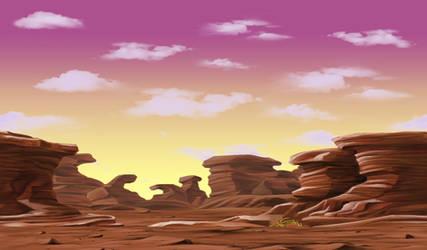 Desert BG (Saiyan Saga) [Dokkan Battle] by maxiuchiha22