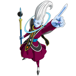 Whis render [SDBH World Mission] by maxiuchiha22