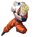 Ultimate Gohan SSJ render [SDBH World Mission]