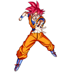 Goku SSG render 2 [SDBH World Mission]